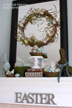 Mantel  Decorations : IDEAS &  INSPIRATIONS : Easter Mantel Archives