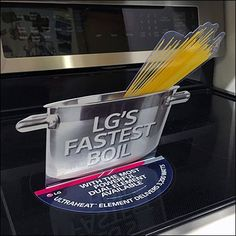 Cook Surface Display Stick-On by LG – Fixtures Close Up Surface, Appliances, Display, Cooking, Ideas, Gadgets, Accessories, Billboard, Kochen