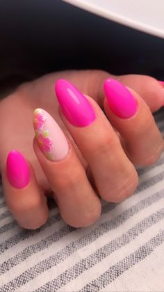 Flower Nails, Pink Flowers, Passion, Rose Flowers
