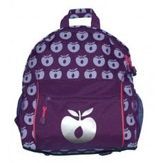Op stap gaan was nog leuker met deze te gekke rugzak met appels van het Deense merk Smafolk.
