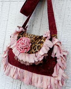 Prairie Couture Carpet Bag  Vagabond Gypsy by FadedPrairieCouture, $155.00