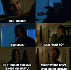 The Walking Dead #thewalkingdead #twd ..Oh Daryl!
