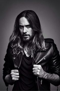 There's something about him... Jared Leto!