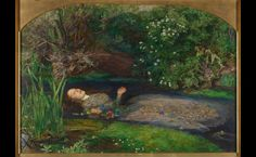 Ophelia by Sir John Everett Millais completed 1851-52. Saw this in the Louvre and absolutely LOVE it!
