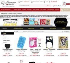 Banner Interno Giuliana Flores - página exclusiva da Linha Criative