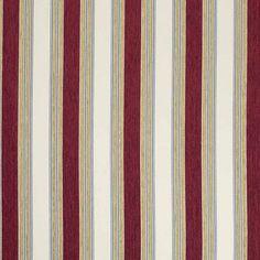 Warwick Fabrics : LLOYD, Colour SCARLET