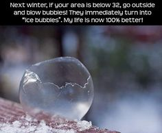 This will be happening all winter...