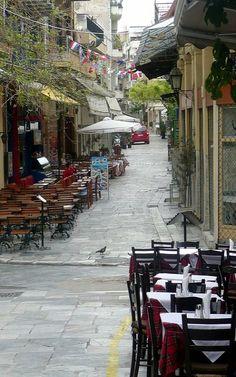 Plaka neighborhood ~ Athens, Greece