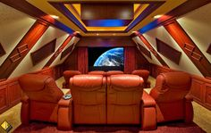 Enjoy a night at the movies without ever leaving our house. Contact us today for info on your very own custom home theater! www.sierraintegratedsystems.com  #hometheater #custom #design #architecture #wholehomeautomation #movie #Theater