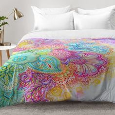 East Urban Home Flourish Comforter Set