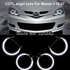 Us 23 63 8 Off Aliexpress For Mazda 3 Mazda3 2003 2004 2005 2006 2007 Excellent Angel Eyes New Ultra Bright Headlight Illumination Ccfl