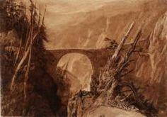 Joseph Mallord William Turner 'Little Devil's Bridge', circa 1806–7