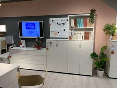 Corner Desk, Ikea, Flat Screen, Furniture, Home Decor, Corner Table, Blood Plasma, Decoration Home, Ikea Co