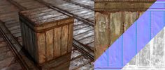 PBR Textures by Clinton Crumpler, via Behance