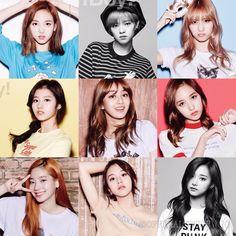 Twice Nayeon Jeongyeon Momo Sana Jihyo Mina Dahyun Chaeyoung Tzuyu