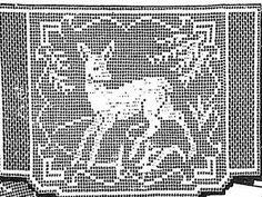Free Antique Filet Crochet Patterns | eBay