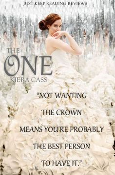 "Read ""The One"" by Kiera Cass available from Rakuten Kobo. The captivating third book in Kiera Cass's New York Times bestselling Selection series America Singer searches for he. Ya Books, I Love Books, Great Books, Books To Read, Teen Books, Reading Books, La Sélection Kiera Cass, Kiera Cass Books, Kiera Cass Libros"