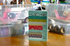 Impress Moment: CuTe WaSHi TaPe NoTeBooK