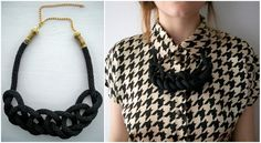 ¨h e r e n c i a¨: DIY- Collar de Lazo / Rope Necklace