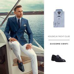 """Polubienia: 133, komentarze: 2 – Giacomo Conti (@giacomo_conti_polska) na Instagramie: """"Kolekcja Yacht Club! #giacomoconti #giacomo #menwithclass #giacomo_conti_polska #marynarka #styl…"""""""