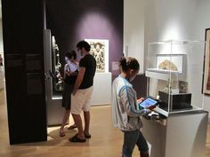 iPad Kiosks at the Brooklyn Museum - a completely interactive experience
