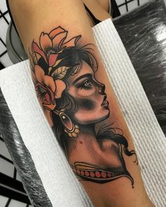 Tattoo @timtavariaTattoo #neo #traditional #realism