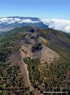 La Palma - la Cumbre Vieja - photo aereasCanarias