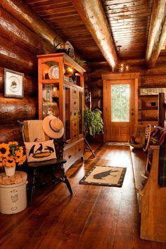 Rustic entry~cozy