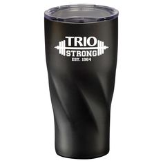 #TRIOworks Hugo Copper Vacuum Insulated Tumbler 20oz TRIO STRONG imprint