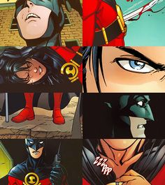Tim Drake - Red Robin. He'll never be better than Dick Grayson