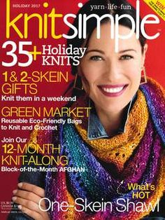 The Judah Pattern has now been released knit in Koigu Chelsea. View this and Knit Simple Holiday 2017 designs in Koigu. Crochet Magazine, Knitting Magazine, Creative Knitting, Easy Knitting, Free Crochet, Knit Crochet, Knitting Books, Green Gifts, Knitted Bags
