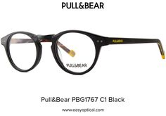 Pull&Bear PBG1767 C1 Black Eyewear, Easy, Black, Eyeglasses, Black People, Sunglasses, Eye Glasses, Glasses