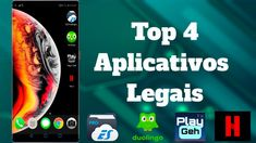TOP 4 APLICATIVOS LEGAIS *muito legais* Youtube, Smartphone, Top, Really Nice, Apps, Beach, Crop Tee, Youtubers, Shirts