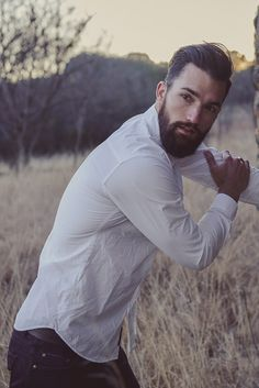 Not usually into guys with beards, but HE can get it.....mmmhmmm lol