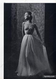 Grès (Germaine Krebs) 1948 Evening Gown