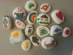DIY Story Stones. These are going to be fun!