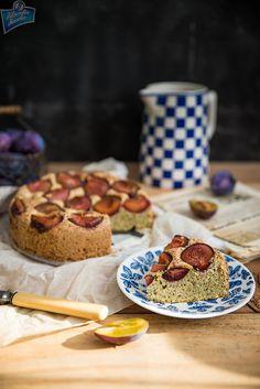 Ciasto orzechowe ze śliwkami (bez glutenu)