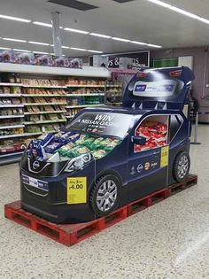 POPAI Awards 2017 GROCERY, CONVENIENCE & GENERAL MERCHANDISE - TEMPORARY DISPLAY - Silver Winner Walkers Qashqai WOW by InContrast/STI Line for Pepsico.