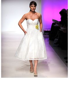 I love these styles, and this dress is only $599 by Alfred Angelo
