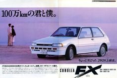 Classic Car News Pics And Videos From Around The World Toyota Fx, Toyota Cars, Corolla Hatchback, Japanese Domestic Market, Car Brochure, Toyota Corolla, Corolla Twincam, Car Advertising, Transporter