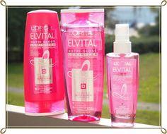 2Sets: L´OREAL Elvital Nutri-Gloss Luminizer Shampoo (250ml) + Spülung (200ml) 3,-