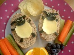 Timmy sandwiches from the kids tv show Timmy Time.