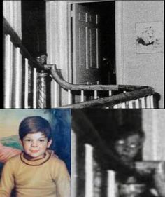 Lorraine and ed warren ghost pictures - Amytiville Real Ghost Pictures, Creepy Pictures, Ghost Photos, Scary Photos, Creepy Images, Haunted Houses Near Me, Haunted Places, Creepy Stories, Ghost Stories
