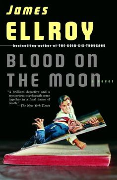 Meta-pulp covers for a new series of Ellroy reprints... literally giving a new dimension to noir pulp.