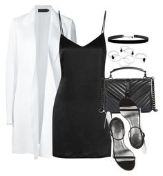 """""""#Style"""" by rosana-storyofmylife ❤ liked on Polyvore featuring Calvin Klein Collection, La Perla, Yves Saint Laurent and Stuart Weitzman"""