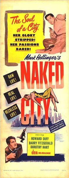 """""""There are 8 million stories in the Naked City..."""""""