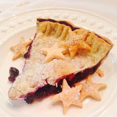 Bourbon and Blueberry Pie