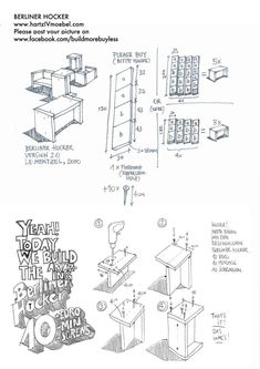 Berliner Hocker instructions