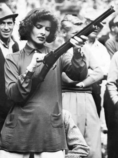 """""""I have not lived as a woman. I have lived as a man. I've just done what I damn well wanted to, and I've made enough money to support myself, and I ain't afraid of being alone.""""  Katherine Hepburn"""