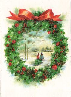 Wreath vignette.